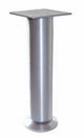 Meubelpoot aluminium 40mm - lengte 180mm<br />per stuk