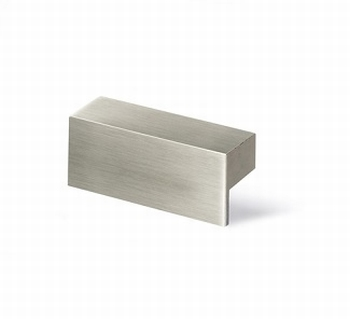 Greep Trani - edelstaal finish geborsteld - lengte 212 mm<br />Per stuk