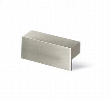 Greep Trani - edelstaal finish geborsteld - lengte 52 mm<br />Per stuk