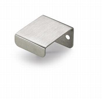 Knop Narni - edelstaal geborsteld - breedte 30 mm<br />Per stuk