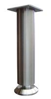 RVS meubelpoot 35mm - hoogte 100mm<br />per stuk