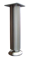 RVS meubelpoot 35mm - hoogte 190mm<br />per stuk