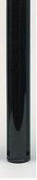tafelpoot 60mm - 710mm - set 4 stuks - zwart glanzend<br />per set (4)