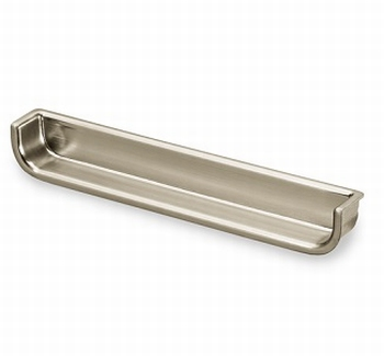 Greep Genzone - edelstaal finish - Lengte 134 mm<br />Per stuk