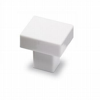 Knop Ameria - Porselein wit<br />Per stuk
