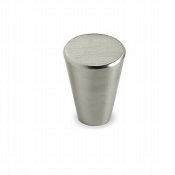 Knop Onex - geborsteld edelstaal<br />Per stuk