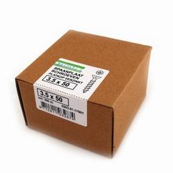 Spaanplaat/houtschroef PK  3,5x50mm  - doos 200 stuks<br />per doos