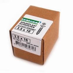 Spaanplaat/houtschroef PK 3,5x16mm  - doos 200 stuks<br />per doos