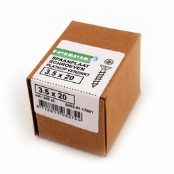 Spaanplaat/houtschroef PK 3,5x20mm  - doos 200 stuks<br />per doos