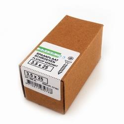 Spaanplaat/houtschroef PK 3,5x25mm  - doos 200 stuks<br />per doos