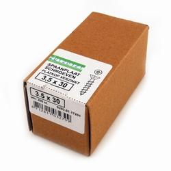 Spaanplaat/houtschroef PK 3,5x30mm  - doos 200 stuks<br />per doos