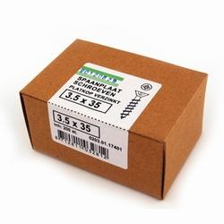 Spaanplaat/houtschroef PK 3,5x35mm  - doos 200 stuks<br />per doos