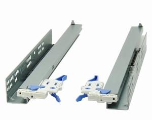 Eurogeleider 45 cm met softclosing en 3D verstelbaar<br />Per paar