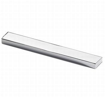 Greep Stabia - glanzend verchroomd - Lengte 140 mm<br />Per stuk