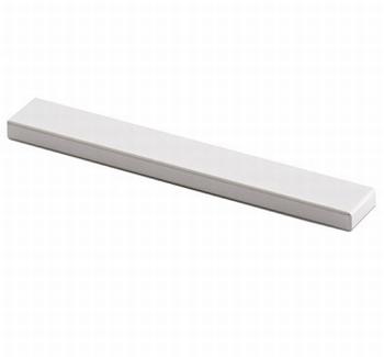 Greep Stabia - Aluminium geeloxeerd - Lengte 76 mm<br />Per stuk