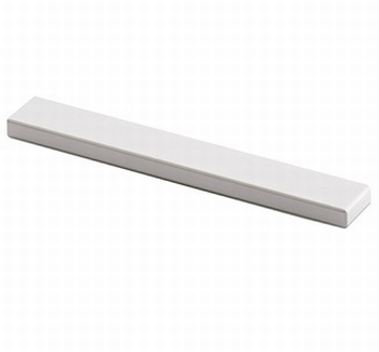 Greep Stabia - Aluminium geeloxeerd - Lengte 140 mm<br />Per stuk
