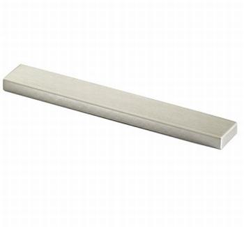 Greep Stabia - edelstaal finish geborsteld - Lengte 108 mm<br />Per stuk