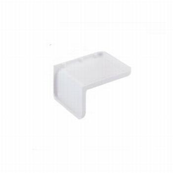 Afdekkap wit voor: Verbindingshoek voor 32 mm rijboring<br />Per stuk