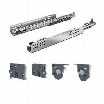 Quadro V6/500mm Silent System - 4D - Belastbaar tot 30kg<br />Per set