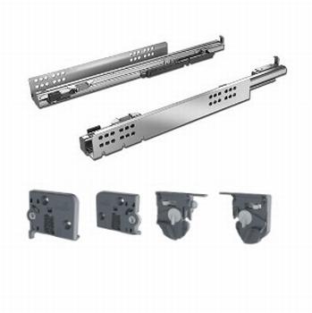 Quadro V6/600mm Silent System - 4D - Belastbaar tot 30kg<br />Per set