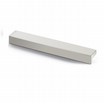 Greep Rovigo - Aluminium geeloxeerd - Lengte 111 mm<br />Per stuk