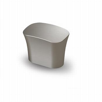 Knop Itri - Edelstaal finish geborsteld - Breedte 25 mm<br />Per stuk