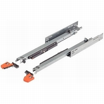 Blum Movento incl. push-to-open - 650mm - 60kg <br />Per paar