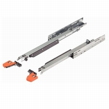 Blum Movento incl. softclosing - 650mm - 60kg<br />Per paar