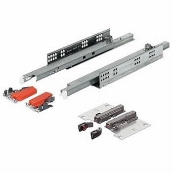 Blum Tandem inclusief push-to-open 500mm - 50kg<br />Per paar