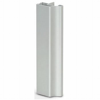 Greeplijst aluminium mat zilver - type A/18mm - 520cm<br />Per stuk