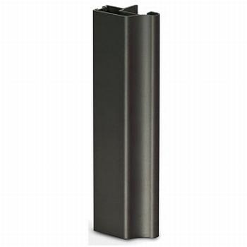 Greeplijst zwart - type A/18mm - 520cm<br />Per stuk