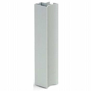 Greeplijst aluminium mat zilver - type A/10mm - 520cm<br />Per stuk