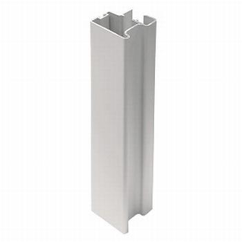 Greeplijst aluminium mat zilver - type C/18mm - 520cm<br />Per stuk