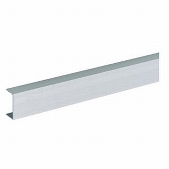 Glasschuifdeurbeslag frame profiel - 500cm<br />Per stuk