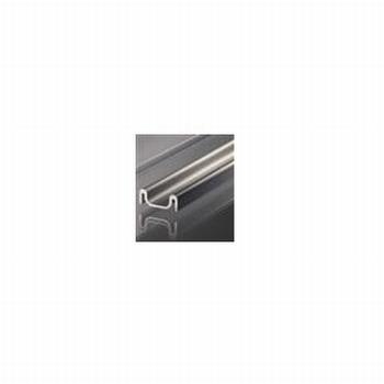 Glasschuifdeurbeslag onderrail - 500cm<br />Per stuk