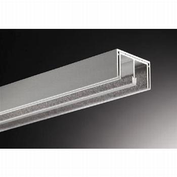 Glasschuifdeurbeslag bovenrail - 500cm<br />Per stuk