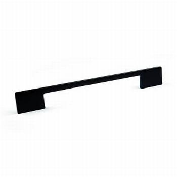 Meubelgreep Laia mat zwart - L 156mm - H 24mm - D 4.5/7mm<br />Per stuk
