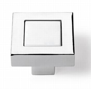 Massief kunststof tafelverhoger 56x56x30mm - zwart