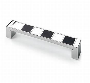 Massief kunststof tafelverhoger 98x98x20mm - zwart<br />Per stuk