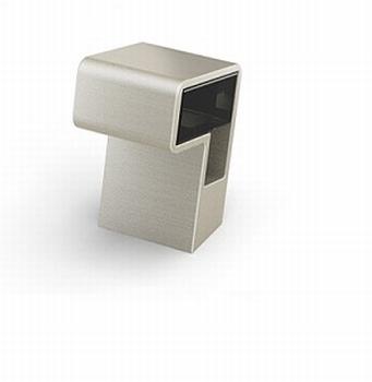Sarus - Edelstaal finish geborsteld/acryl bruin transpirant<br />Per stuk
