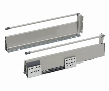 Ladensysteem-Slidebox-set-H135-Grijs-450mm<br />Per set