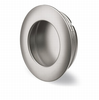 Greep Borgoa - mat verchroomd - diameter 41 mm<br />Per stuk