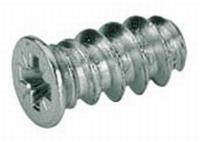 Euroschroef 6,3 x 14mm met verzonken kop - boor 5mm<br />per stuk