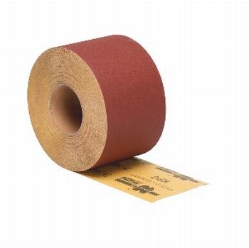 Schuurpapier 115 mm rol 5meter - P120<br />per rol 5meter