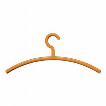 Hewi kleerhanger Hedwig - 450mm - polyamide - Oranje<br />Per stuk