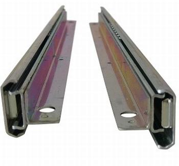 Kogelgeleider 27 x 11mm met drager / 20kg - 450mm<br />Per paar