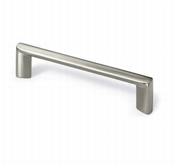 Greep Chalcis - Edelstaal finish - Lengte 147 mm<br />Per stuk