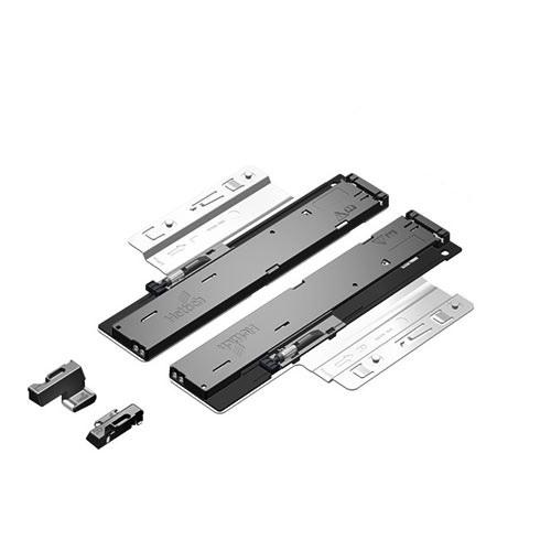 Quadro V6/380mm Push to Open - 4D - Belastbaar tot 30kg<br />Per paar