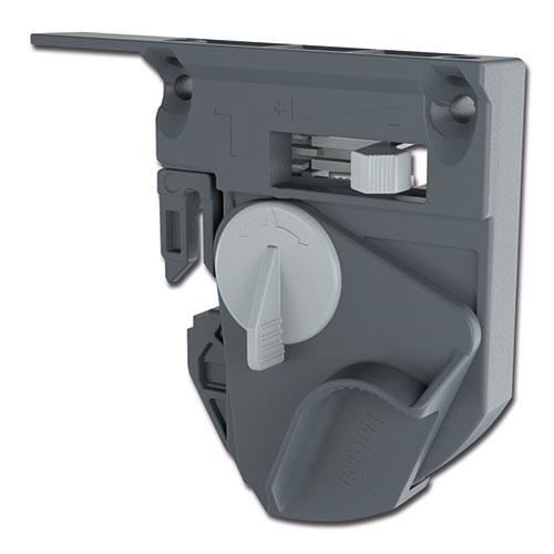 Quadro V6/400mm Push to Open - 4D - Belastbaar tot 30kg<br />Per paar