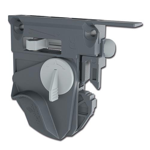 Quadro V6/450mm Push to Open - 4D - Belastbaar tot 30kg<br />Per paar